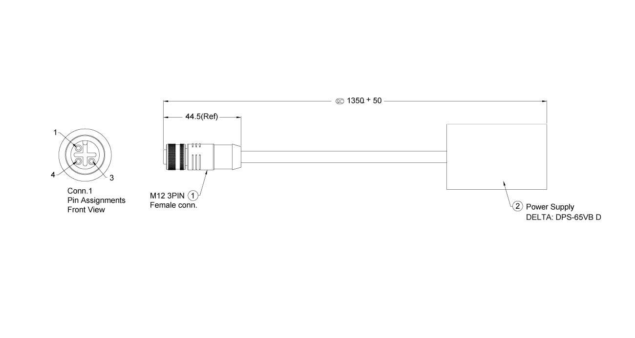 DPS-65VB-M12 Dimension